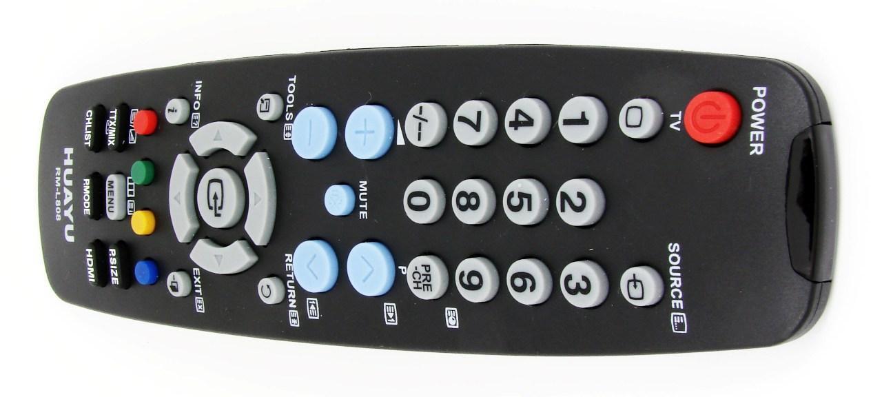 Пульт для телевизора SAMSUNG (HUAYU) RM-L808 (LCD) универсальный | Пульты дистанционного управления HUAYU