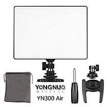 YN-300 Air Накамерный LED прожектор с аккумулятором NP-F770 и зарядным устройством, фото 2