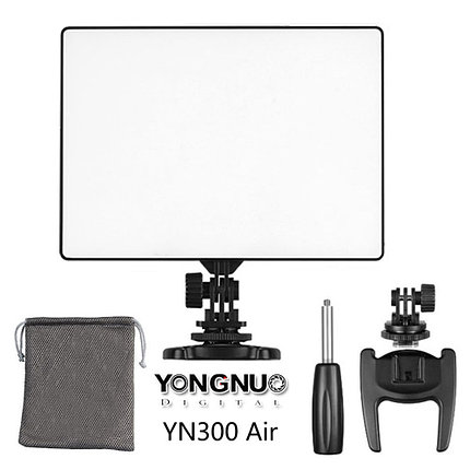 YN-300A-r Накамерный LED прожектор фонарь, фото 2