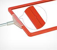 Рамка из ударопрочного пластика с закругленными углами PF-А5, цвет красный, фото 1