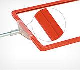 Рамка из ударопрочного пластика с закругленными углами PF-А6, цвет красный, фото 2