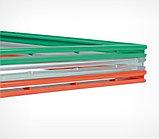Рамка из ударопрочного пластика с закругленными углами PF-А6, цвет красный, фото 3