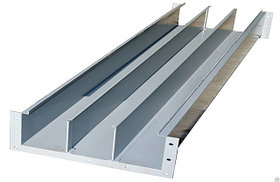 Короб прямой КП ( КП-0,05/0,1-2 короб прямой, высота борта-50,ширина-100,длина-2м)