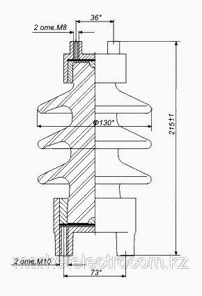 Изолятор С-4-80 II УХЛ1