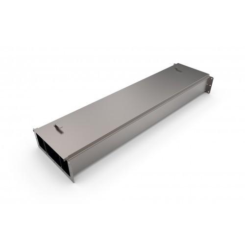 Короб ККБ-3ПО-0,2*0,5-2 трехканальный прямой плоский