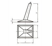 Фундаменты под унифицированные металлические опоры ВЛ 500 кВ