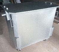 Оцинкованный евроконтейнер 1,1 куб. (НДС 12% в т.ч.)