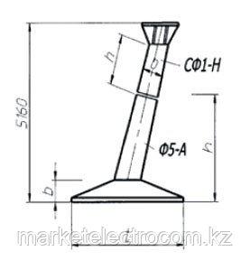 Фундаменты повышенные составные под унифицированные металлические опоры ВЛ 35-330 кВ