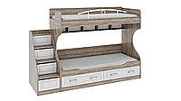 Прованс СМ-223.11.001 Кровать 2х ярусная с приставной лестницей