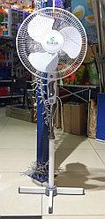 Вентилятор напольный ECOLUX RQ-1616A d=30см, 40Вт, 3 скор. режима, белый
