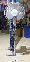 Вентилятор напольный ECOLUX RQ-1610A d=30см, 40Вт, 3 скор. режима, белый