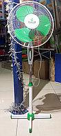 Вентилятор напольный ECOLUX RQ-1616 d=30см, 40Вт, 3 скор. режима, зеленый, фото 1