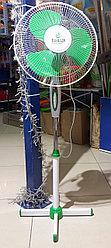 Вентилятор напольный ECOLUX RQ-1616 d=30см, 40Вт, 3 скор. режима, зеленый