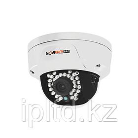 Вандалозащищённая всепогодная купольная IP видеокамера NOVIcam PRO NC22VP