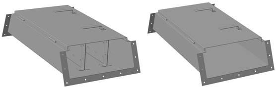 Короб ККБ-3УВП-0,2/0,5ц трехканальный
