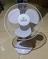 Вентилятор настольный ECOLUX RQ-1212A d=30см, 40Вт, 3 скор. режима, белый, фото 1