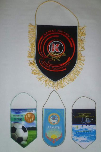 Изготовление вымпелов в Алматы.