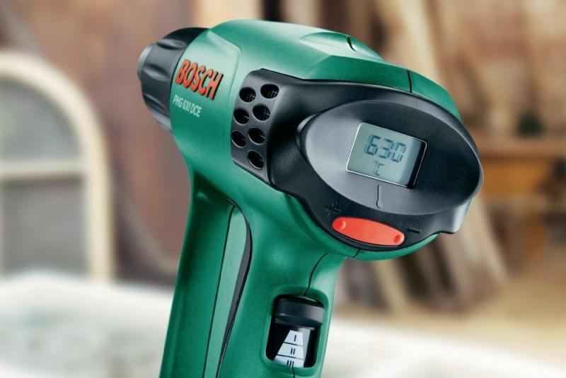 Технический ( строительный, промышленный ) фен Bosch PHG 630 DCE 060329C708