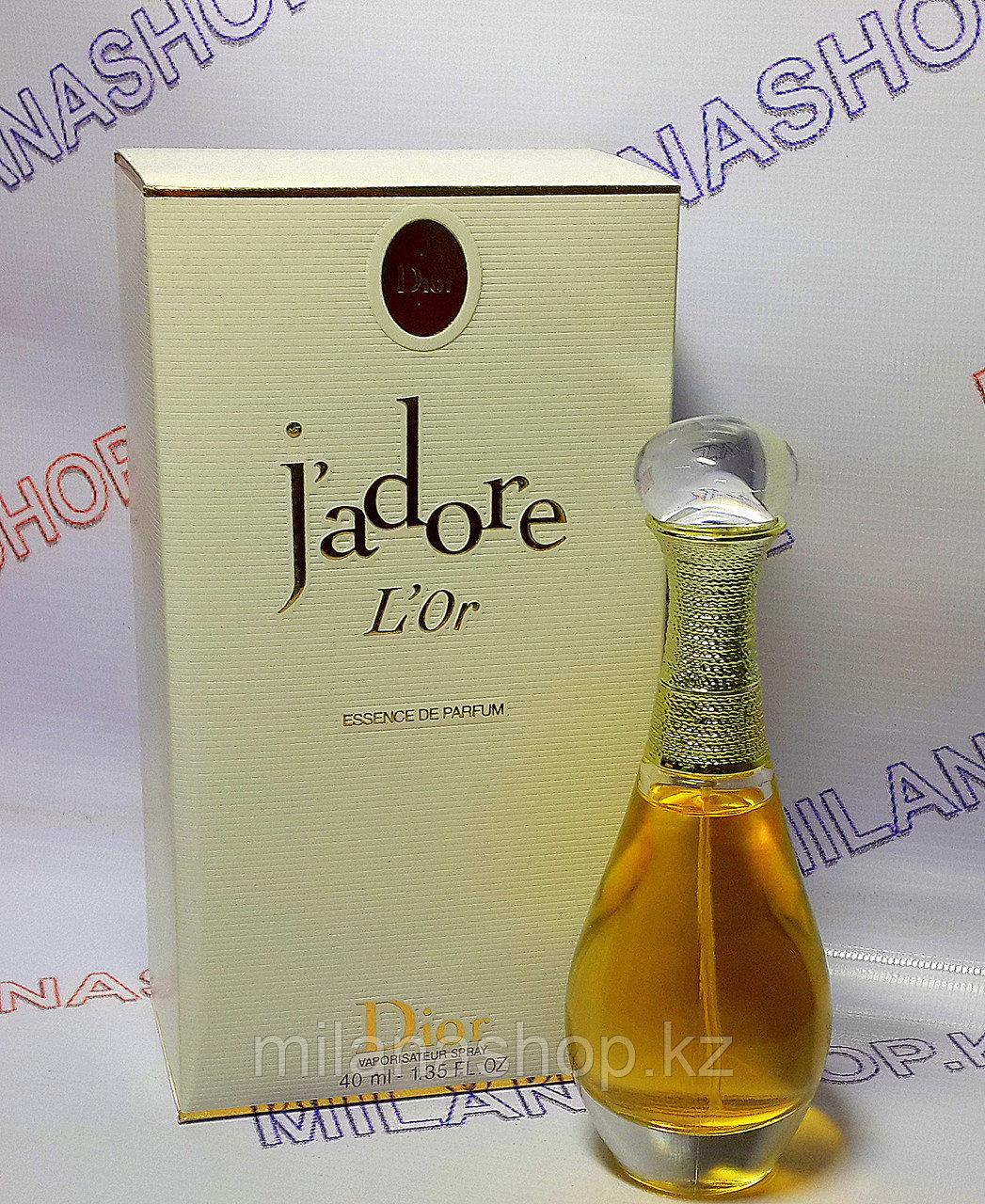 Женские духи J'adore L'or essence Christian Dior ( 50 мг )