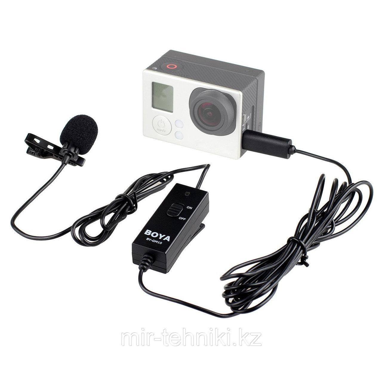 Петличный микрофон Boya BY-GM10