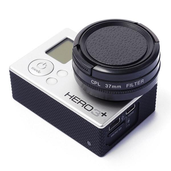 37 мм CPL цвето-корректирующий фильтр для GoPro 3+/4