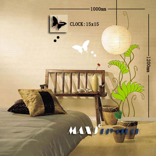 Часы-стикеры 100120 см
