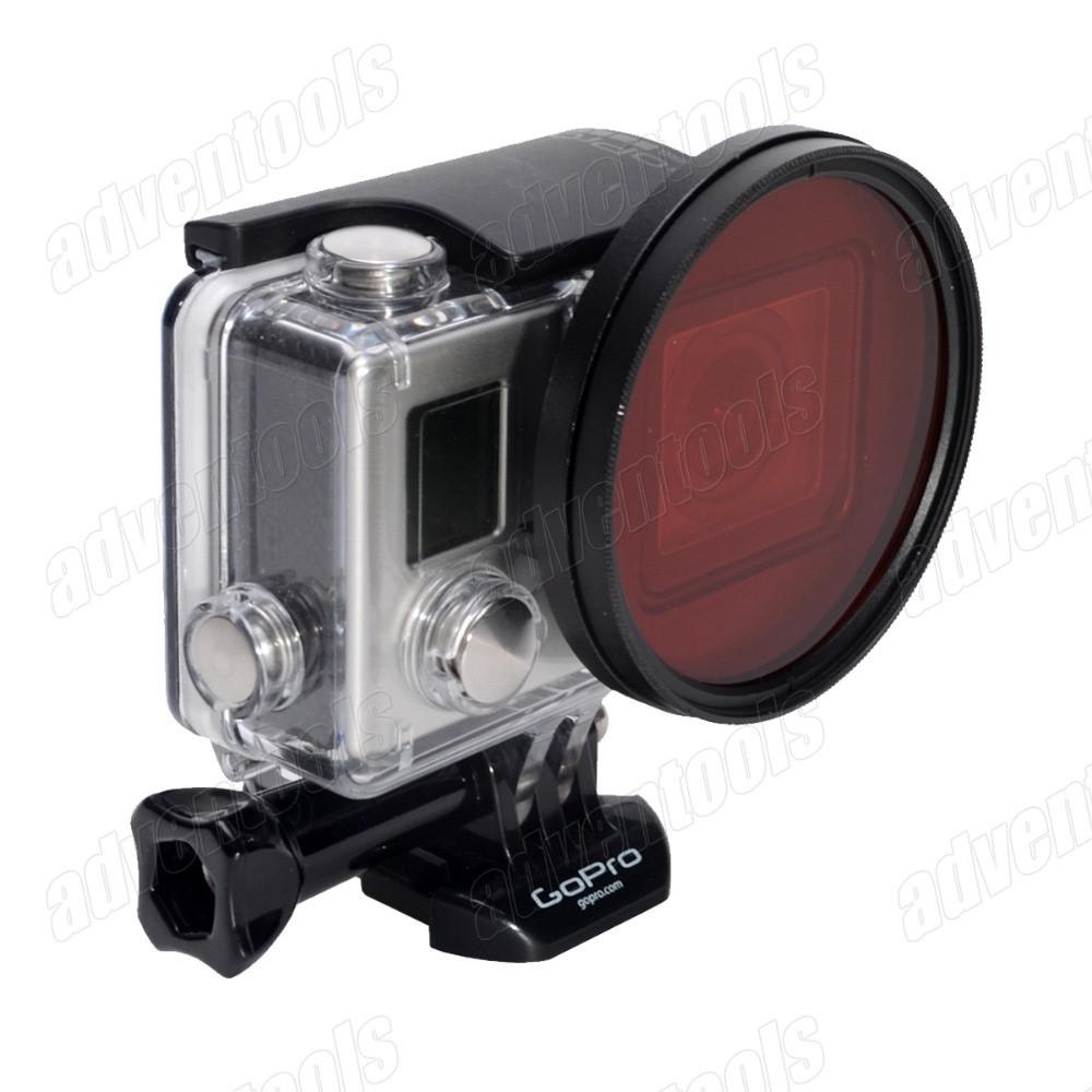 58мм фильтр красный для GoPro HERO 3+/4