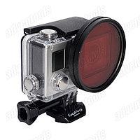 58мм фильтр красный для GoPro HERO 3+/4, фото 1