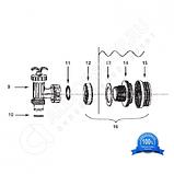 Кран Intex 10747 плунжерный для фильтр-насосов, фото 5