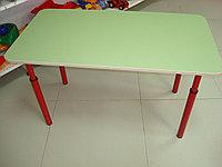Стол детский прямоугольный регулируемый по высоте