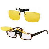 Антибликовые очки для вождения Night View Clip Ons, фото 2