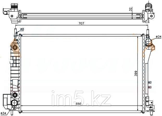 Радиатор FIAT CROMA 05-10
