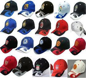 Бейсболки, кепки футбольных клубов