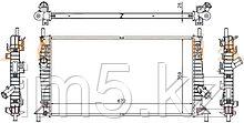 Радиатор FORD C-MAX 03-10