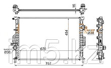 Радиатор FORD FOCUS III 11-