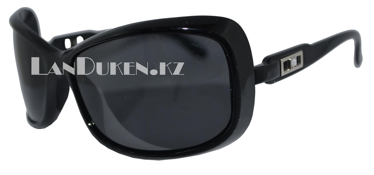 Женские поляризационные очки солнцезащитные черные POLAROID (P307) - фото 1