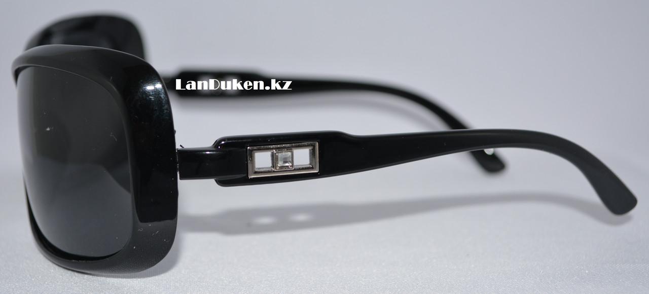 Женские поляризационные очки солнцезащитные черные POLAROID (P307) - фото 2