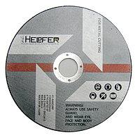 Круг абразивный отрезной по металлу Helpfer