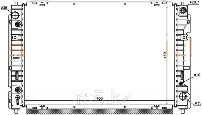 Радиатор FORD ESCAPE 01-08