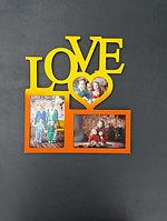 Фоторамка Love 3 фото, фото 1