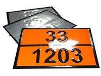 Табличка ООН по ДОПОГ перевозка опасных грузов на бензовоз