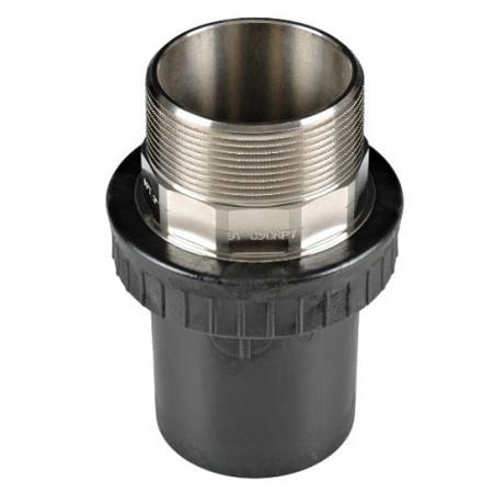 Концевое соединение 90 мм с наружней резьбой