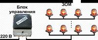 Блок управления световой маркировкой БУ-Ф