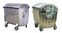 Мусорные контейнеры для ТБО Светло-серый