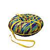Тюбинг-ватрушка 110см цветной