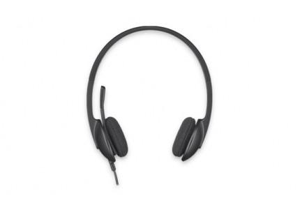 Logitech 981-000475 H340 Гарнитура Stereo USB