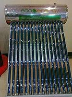 Солнечный водонагреватель 100л, 16 вакуумных трубок