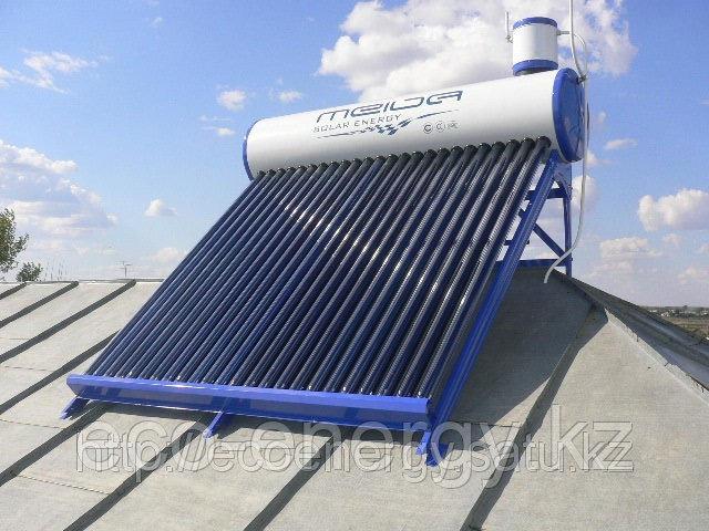 Солнечный водонагреватель 200л, 24 вакуумных трубок