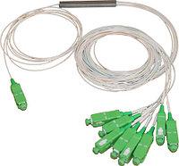 Оптический планарный делитель (PLC сплиттер) 1x8 SC/APC