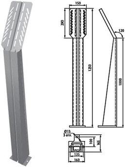 К 305 У3 Предназначена для установки кнопок управления технологическим оборудованием